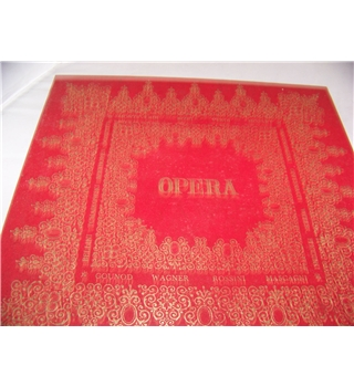 [The Magic World of] Opera Verdi various musicians and orchestras (6 LP box set) SMS 2227, SMS 2416