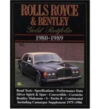 Rolls-Royce and Bentley Gold Portfolio 1980-1989