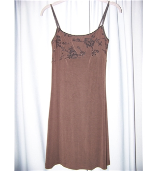Bebe Moda - Size: S - Brown - Mini dress