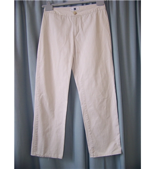 "Gap - Size: 30"" - Cream / ivory - Trousers"
