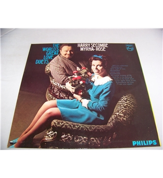 the world's greatest love duets harry secombe and myrna rose - sbl 7841