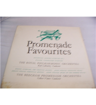 promenade favourites the royal philharmonic orchestra / the beecham promenade orchestra - mono rdm 1013