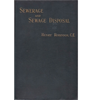 Sewerage and Sewage Disposal - 1896