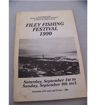 Filey Fishing Festival 1990 - Schedule of Events and Prizes