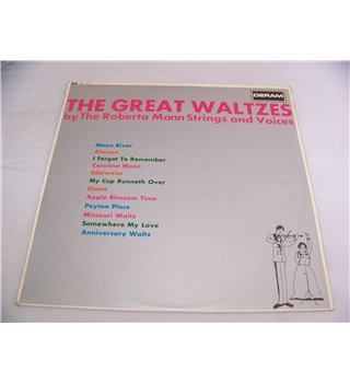 the great waltzes roberto mann strings - dml 1010