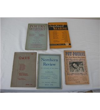 Poetry Quarterly 1945 and Four Other Literary Magazines.