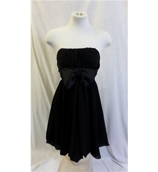 Topshop black prom / party dress