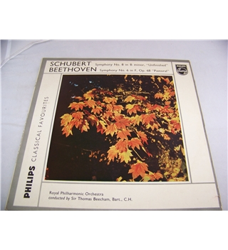 Schubert's Symphony No 8, Beethoven's Symphony No 6 royal philharmonic orchestra - gl 5730