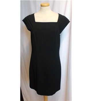 Warehouse size 12 black knee length dress