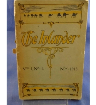The Inlander - A Quarterly Magazine dealing with National Interests from the Outbacker's Point of View Vol. 1 No. 1