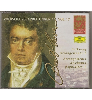 Folksong Arrangements 1 - Vol. 17 Beethoven