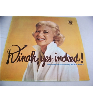 dinah, yes indeed! dinah shore - t408