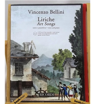 Vincenzo Bellini: Liriche - Art Songs (Voice and Piano)