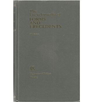 The Encyclopaedia of Forms and Precedents Volume 18 Highways and Bridges, Housing