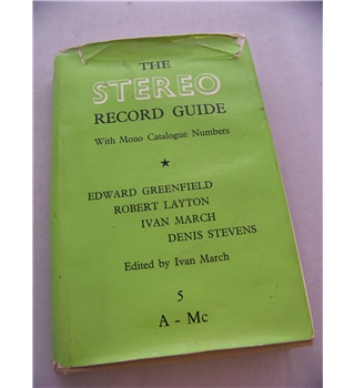 The Stereo Record Guide  Volume V (with mono catalogue numbers also)