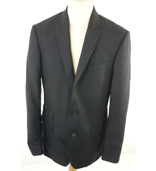 "BNWoT M & S Size: Medium, 40"" chest, tailored fit  Black  Casual/Sartorial Wool & Mohair Single Breasted Blazer"