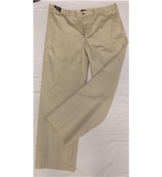 "BNWT M&S - Size: 36"" waist - natural - Chinos"
