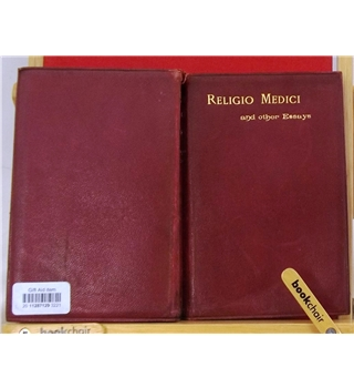 Religio Medici and other Essays