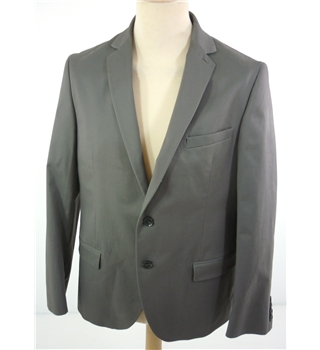 "BNWoT M & S  Size: Medium, 40"" chest, tailored fit  Mocha Brown  Casual/Stylish Cotton Rich Single Breasted Blazer"