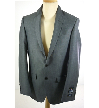 "BNWoT M & S Size: Small, 36"" chest, tailored fit Sirocco Grey  Casual/Stylish Pure New Wool Luxury Single Breasted Blazer"