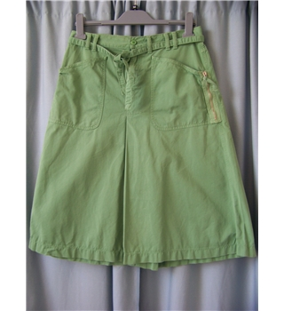 Unbranded - Size: S - Green - Calf length skirt