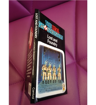 The real Ghostbusters - Lost and Foundry - Carnival Book
