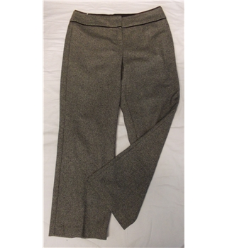Marks & Spencer size:14 (medium) black mix trousers