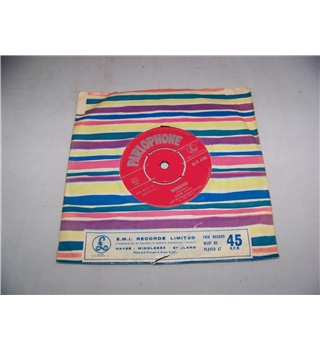 "wonderin' adam faith - 45-r 4766 7"" single"