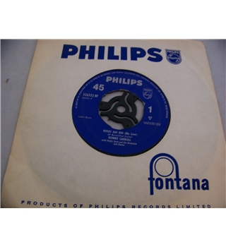 "Roses are Red (My Love) Ronnie Carroll - 326532 bf 7"" single"