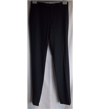 "M&S - Size: 30"" waist - Navy pinstripe Slim Fit - Trousers"