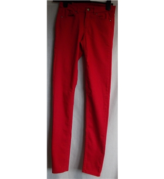 BNWT H&M Divided - Size: 8 - Red - Jeans