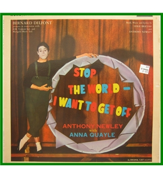 Stop the World - I want to get off Anthony Newley with Anna Quayle - LK4408