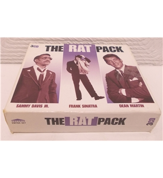 The Rat Pack 3 CD Box set - Sammy Davis jr, Frank Sinatra, Dean Martin