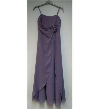Alfred Angelo Purple Size S Special Occasion Long Dress