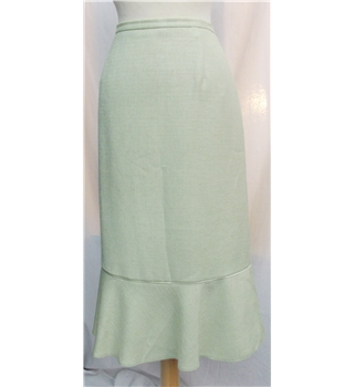 Jacques Vert size:12 light green skirt