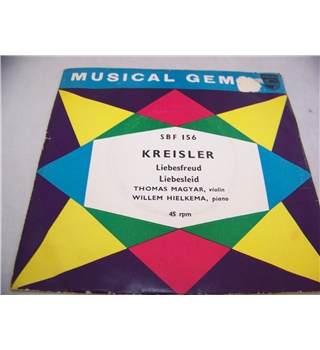 "kreisler thomas magyar and willem hielkema (7"" single) - sbf 156"