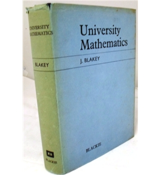 University Mathematics. A Textbook for Students of Science and Engineering