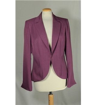Dorothy Perkins - Size: 14 - Purple - Smart jacket / coat