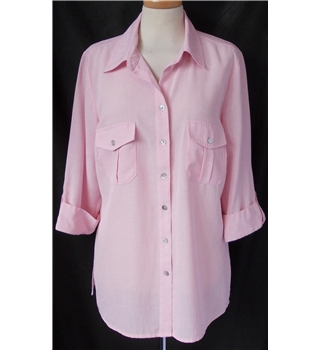Bon Marche - Size: 14 - Pink - Short sleeved shirt