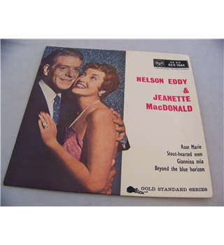 4-track EP single nelson eddy & jeanette macdonald - rcx - 1044