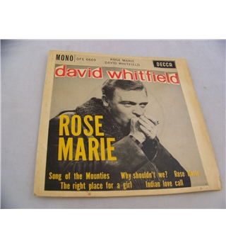 "rose marie david whitfield (7"" EP single) - dfe 6669"