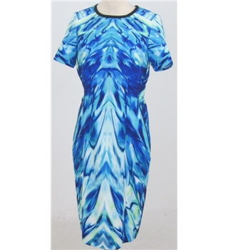 NWOT Per Una Speziale size: 12 blue calf length dress