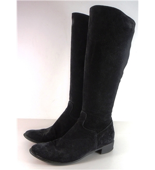 Russell  & Bromley  Size 4.5  Black Suede Boots.