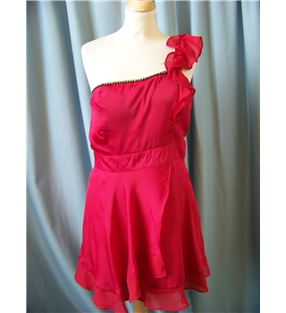 SC - Size: M - Red - Mini dress