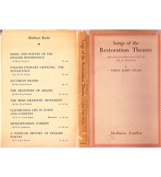 Songs of the Restoration Theatre