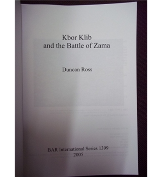 Kbor Klib and the Battle of Zama