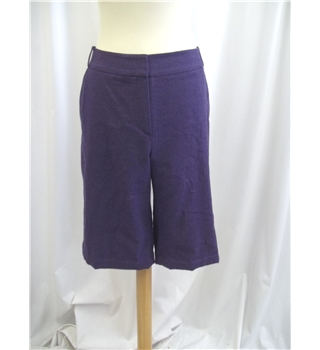 Laura Ashley - Size: 16 - Purple - Shorts