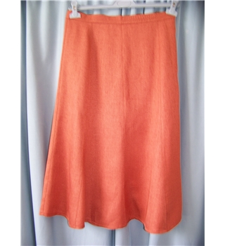 rowlands of bath - Size: M - Orange - Calf length skirt