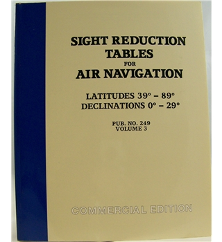 Sight Reduction Tables for Air Navigation