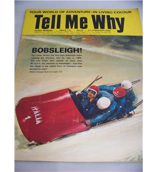 Tell Me Why magazine, No 23, 1 February 1969